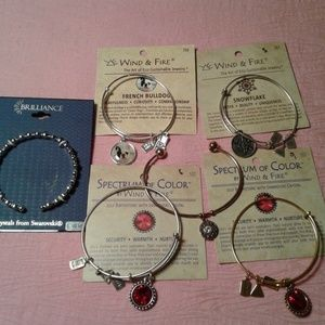 Jewelry - Lot of 5 Assorted Bangle Type Bracelets